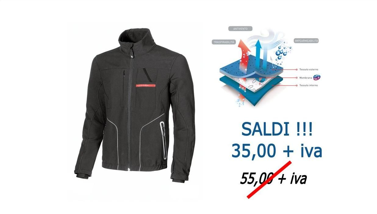 Saldi Soft Shell U-Power
